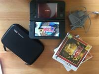 New 3ds xl, perfect condition with games.