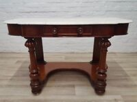 Antique Console/Dressing Table (DELIVERY AVAILABLE FOR THIS ITEM OF FURNITURE)
