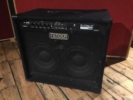 Fender rumble 100 2x10 Bass combo amp