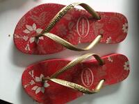 Haviana girls flip flops