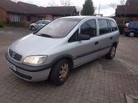 Vauxhall zafira 2.0 dti 7 seater