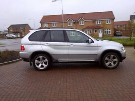 BMW X5 3.0d SPORT EXCLUSIVE SATNAV BLUETOOTH ELEC LEATHER SEATS MOT 10/18 CHEAP PART EXHANGE WELCOME