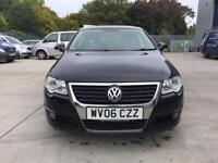 VW PASSAT 2006 2.0 TDI, DVD PLAYER, NAVIGATION, ONE PREVIOUS OWNER, FULL SERVICE HISTORY