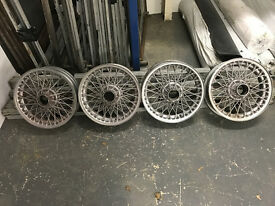 wire wheels for Austin Healey or similar