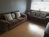 **REDUCED** 2 x three seater sofas for sale - good condition