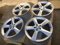 "19"" genuine Mercedes alloy wheels 5x112"