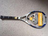 "Unused Head Tennis Racket with original tags - Petite Adult or Junior - 4 1/8"" grip"