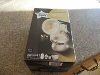 Tommee tippee breast pump as new