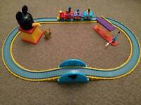 Disney Store Mickey & Friends Train Set
