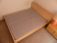 IKEA MALM King Size Bed with Mattress