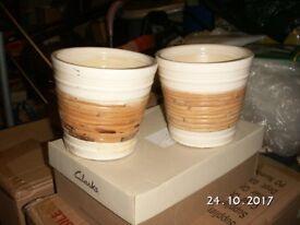 Two Pottery Pots