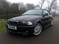 BMW 330CI M Sport Convertible - Low Mileage - Full Service History - immaculate - Warranty