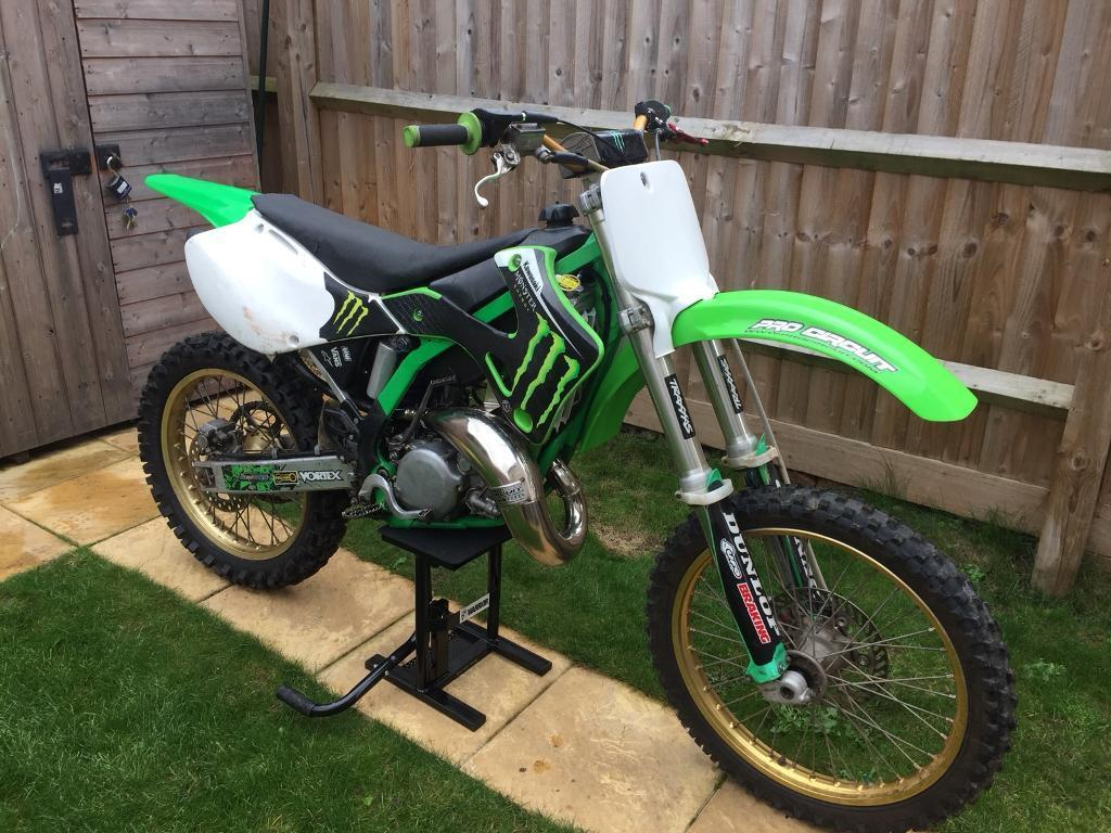 Kx 125 just top end rebuild receipts to prove upgraded exhaust, radiators starts 1st time