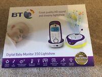 BT baby monitor light show 350 BNIB