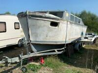 7m Boat and trailer for sale