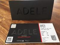 Adele tickets x 2 - The Finale