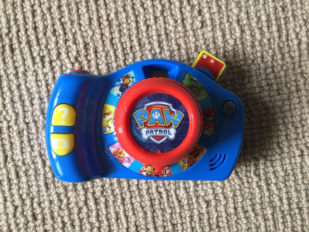 Paw Patrol Camera with sounds SOLD STC
