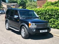 LAND ROVER DISCOVERY 3 2.7 HSE 3 KEYS FULL SERVICE HISTORY