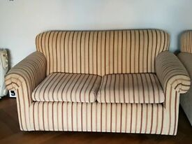 Two comfy sofas for sale - bargain! £20 ono