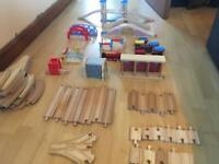 Brio/ELC tower bridge train set