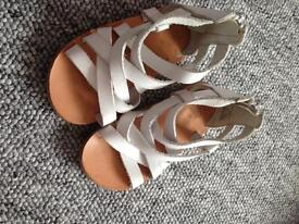 Zara Toddler Real Leather Sandals - Size 20