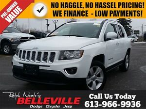 2016 Jeep Compass High Altitude-Sunroof-Remote Start