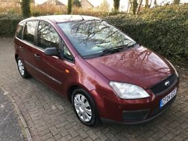 2004 FORD FOCUS CMAX C-MAX 1.6 16V LX 5DR RED