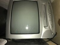 Television & VCR combo