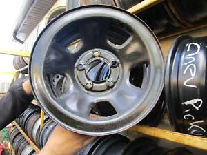 SET OF 4 USED 15 IN STEEL RIMS FOR 1998 CHEV PICK UP