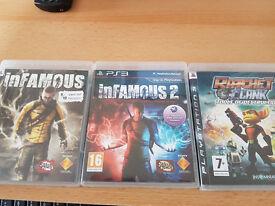 PS3 Bundle Infamous & Ratchet & Clank