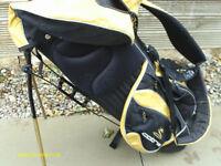 COBRA YELLOW/BLACK GOLF STAND BAG
