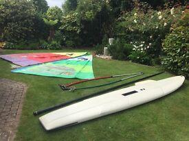 Sailboard windsurf set