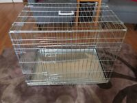 Metal dog crate - very good condition