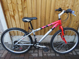 """""""RALEIGH ATV5"""" MOUNTAIN BIKE.GREAT CONDITION. ALL FULLY WORKING."""