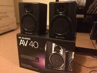 M-Audio Studiophile AV40 40W active speaker system