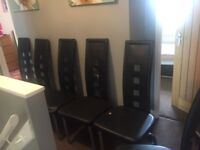 6 dining chairs been reduced need to go quick