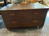 Dark Wood TV Stand £20