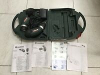 Cordless Screwdriver with Flashlight used Metabo in Carry Case