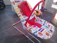 Baby bouncy chair Reduced for quicksale Mamas & Papas Bubble with instruction Excellent condition