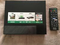 Sony Blu Ray Player BDP-S4500 with 3D facility