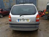 2002 left hand drive opel Zafira 7 seater