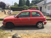 Nissan Micra very low miles