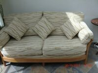 ERCOL Renaissance 3 seater sofa - only a few years old