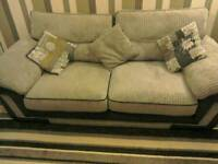 3 & 2 seater fabric sofa for sale