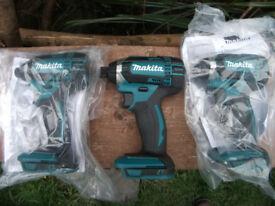NEW! Professional Makita 18v LXT Impact Drill Gun DTD152z! Screwfix price £120!