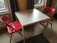 Ikea Dining Table and 2x Chairs