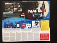 BN&S PS4 Mafia III 1TB console with warranty