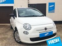 Fiat 500 1.2 Pop 3dr (start/stop) 2012 Fiji Edition! - 12 Months MOT and Full Service History
