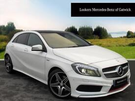 Mercedes-Benz A Class A250 BLUEEFFICIENCY ENGINEERED BY AMG (white) 2015-12-19
