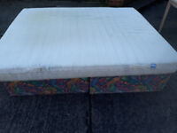 king size mattress with zip off cover over the top